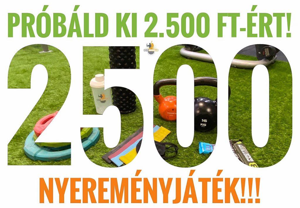 2 500 – Egy igazán különleges csomagot ajánlunk Neked, mindössze 2 500 Ft-ért!